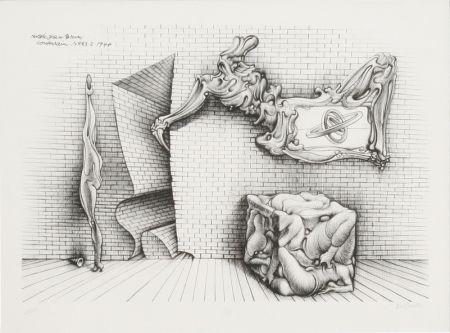 Litografía Bellmer - Souterrain No. 13