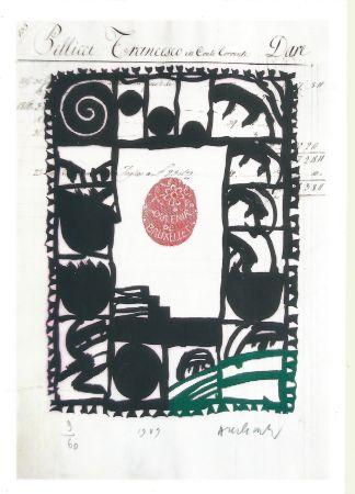 Grabado Alechinsky - Souvenir de Bruxelles