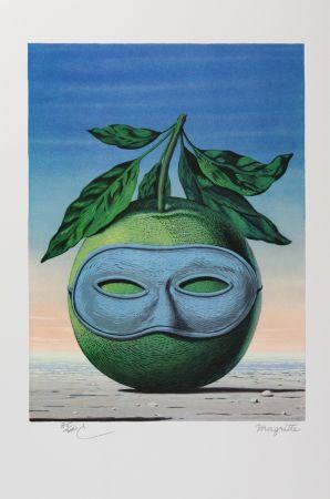 Litografía Magritte - Souvenir de Voyage