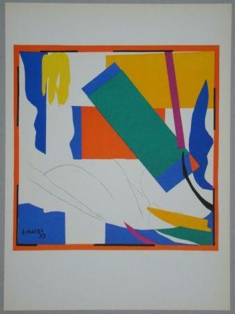 Litografía Matisse - Souvenir d'Océanie