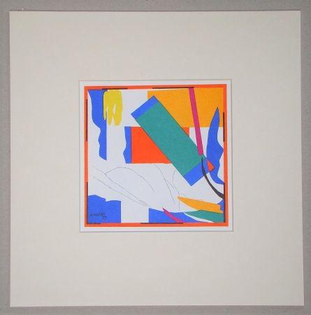 Litografía Matisse (After) - Souvenir d'Océanie - 1953