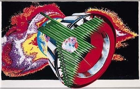 Litografía Rosenquist - Space Dust (from Welcome to the Water Planet)