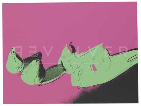 Serigrafía Warhol - Space Fruit: Pears (Fs Ii.203)