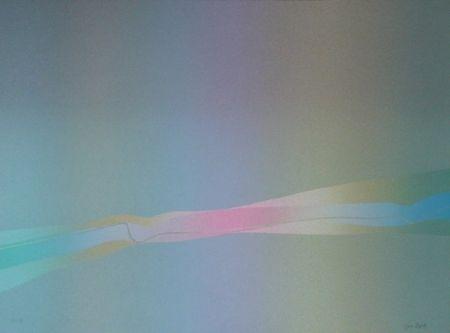 Litografía Bird - Spectre lumière 2