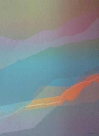 Litografía Bird - Spectre lumière 3