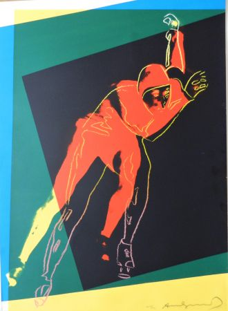 Serigrafía Warhol - Speed Skater