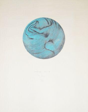 Litografía Bury - Sphère molle
