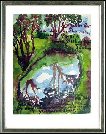 Litografía Grass - Spiegelbilder