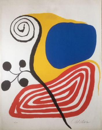 Litografía Calder - Spiral Composition