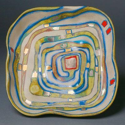 Serigrafía Hundertwasser - Spiralental