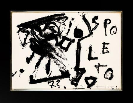 Litografía Vedova - Spoleto 73