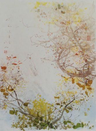 Litografía Chi - Spring