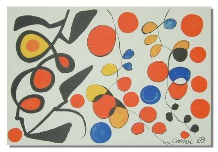 Litografía Calder - Spring Carnival