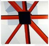 Serigrafía D'arcangelo - Squared Star