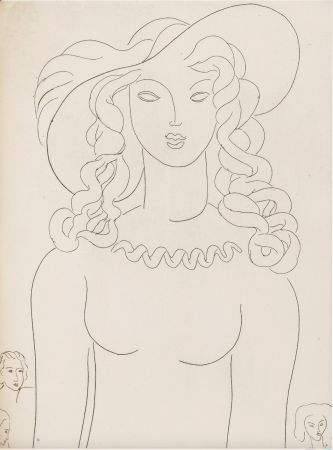 Libro Ilustrado Matisse - Stéphane Mallarmé : POÉSIES. Albert Skira 1930.