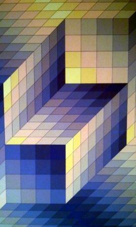 Litografía Vasarely - S/T