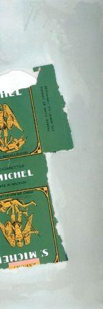 Litografía Motherwell - St. Michael I (State I)