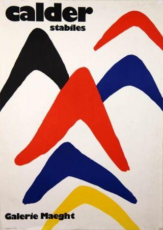 Litografía Calder - Stabiles