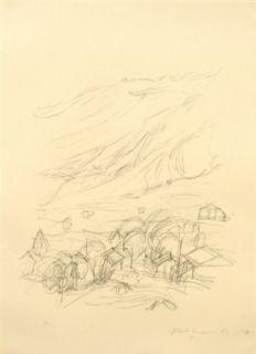Litografía Giacometti - Stampa