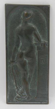 Relieve Durer - Standing Nude, Rear View