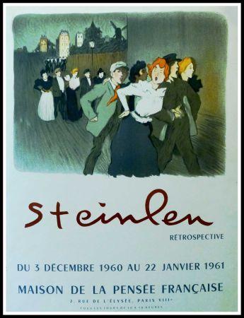 Cartel Steinlen - STEINLEN - MAISON DE LA PENSÉE FRANÇAISE, RÉTROSPECTIVE