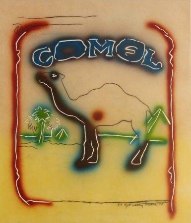 Litografía Rivers - Stencil Camel