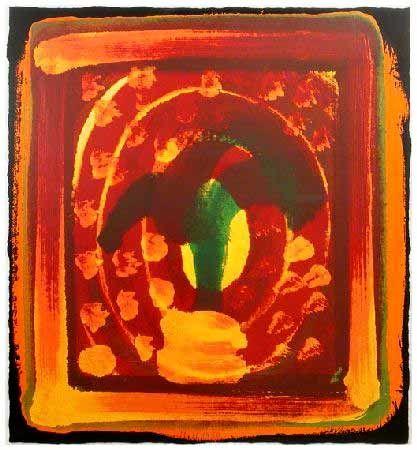 Serigrafía Hodgkin -  Still Life, 1980