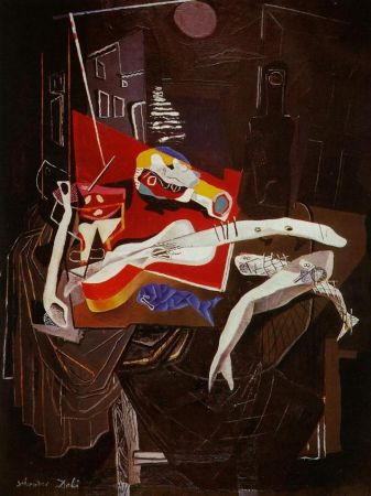 Múltiple Dali - Still Life By The Light of The Moon Tapestry