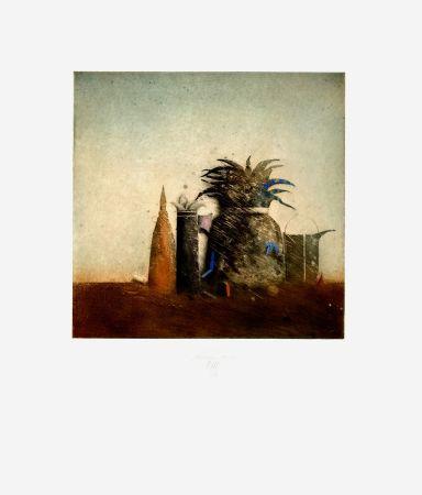 Aguafuerte Y Aguatinta Mordstein - Stilleben / Still Life