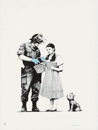 Serigrafía Banksy - Stop And Search