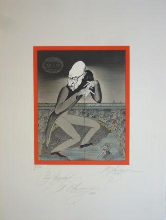 Litografía Chemiakin - Stravinsky