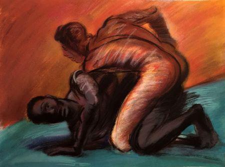 Serigrafía Almaraz - Struggle Of Mankind