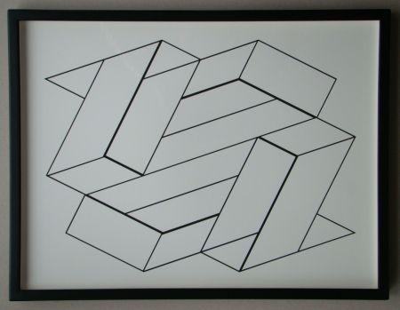 Serigrafía Albers - Strukturale Konstellation