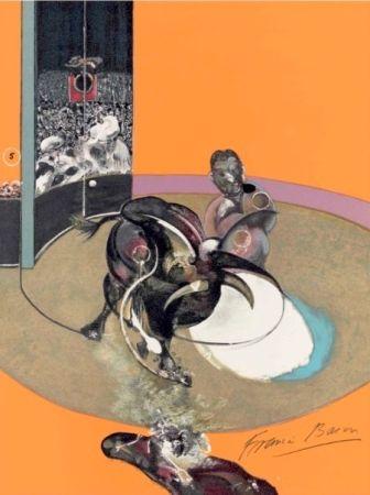 Litografía Bacon -  Study for bullfight, n° 1