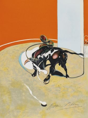 Litografía Bacon - Study for bullfight, n° 3