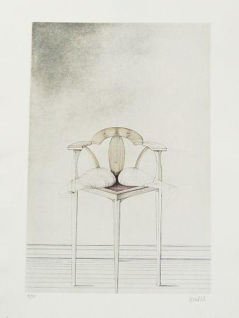 Aguafuerte Wunderlich - Stuhl-Metamorphose