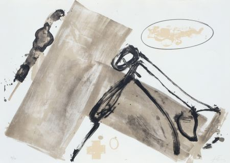 Litografía Tapies - Suite 63 X 90 (No 1)