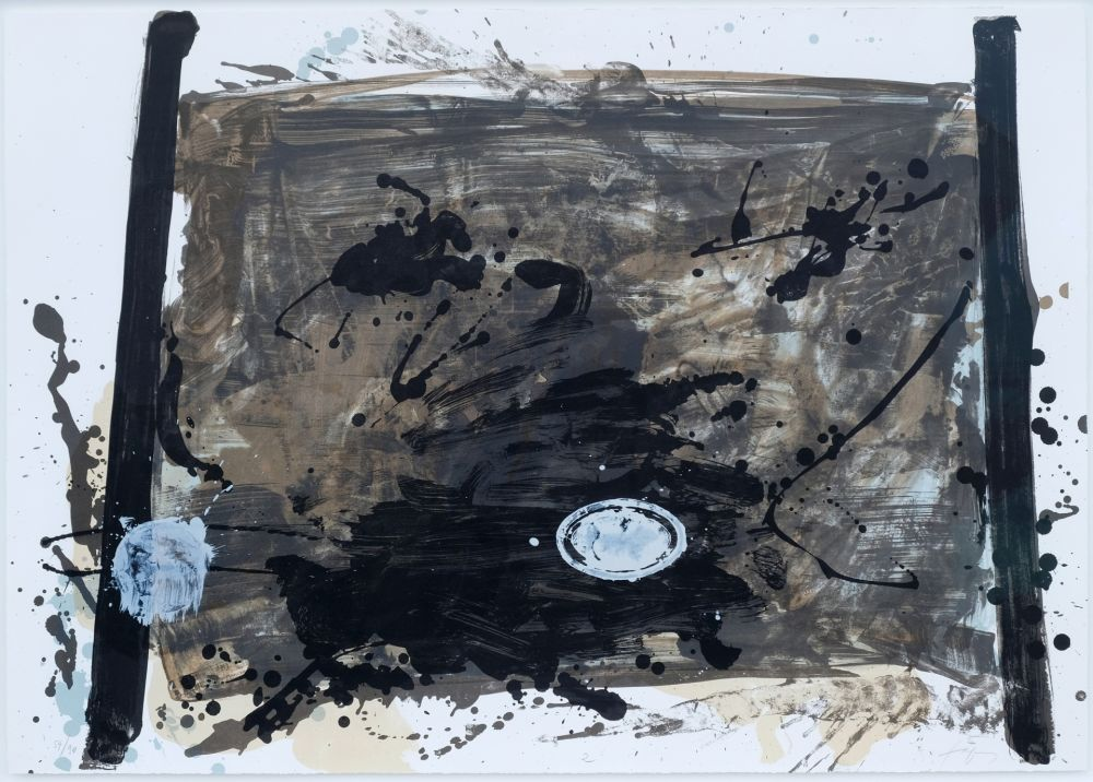 Litografía Tapies - Suite 63 X 90 (No 2)
