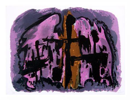 Litografía Manessier - Suite de Pâques