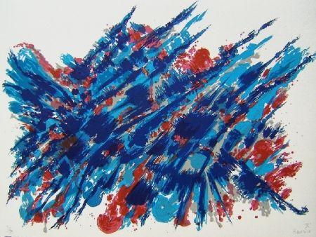 Litografía Manessier - Suite de Pâques Le sang et l'eau