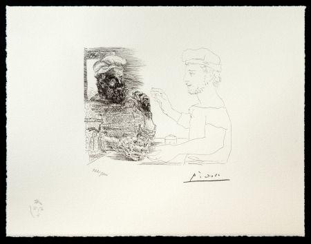 Litografía Picasso (After) - Suite Vollard