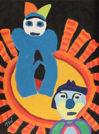 Grabado Appel - Sun of the incas