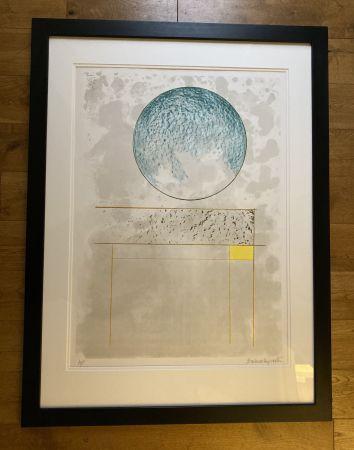 Serigrafía Hepworth - Sun Setting