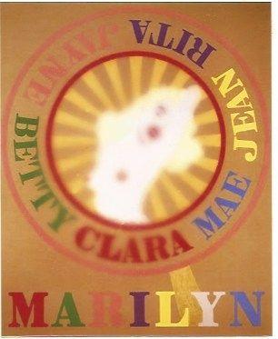 Serigrafía Indiana - Sunburst Marilyn