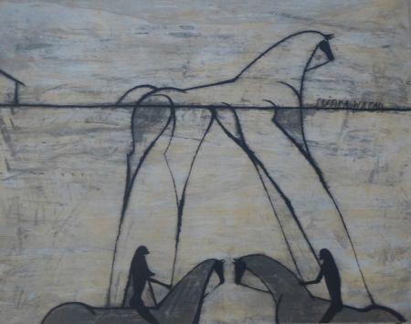 Grabado Bedia - Sunka Wakan