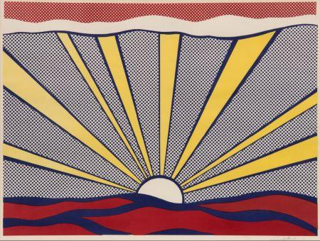 Litografía Lichtenstein - Sunrise