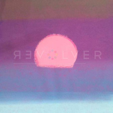 Serigrafía Warhol - Sunset (Unique) (Purple/ Blue)