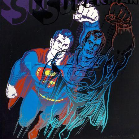 Serigrafía Warhol - Superman (FS II.260)