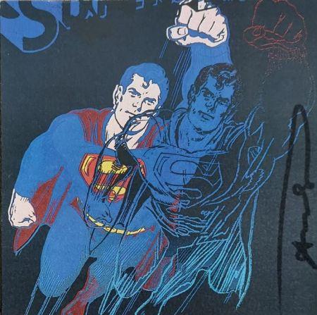 Serigrafía Warhol - Superman