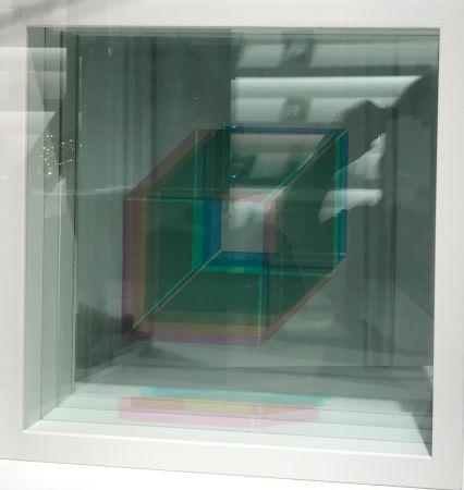 Serigrafía Bury - Superpositions (sur commande, montage en blanc)